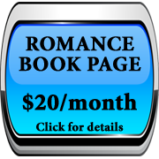 Order Button Romance Book Page Ad Blue
